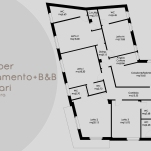 Interior design for private house+B&B (Cagliari, Italy)