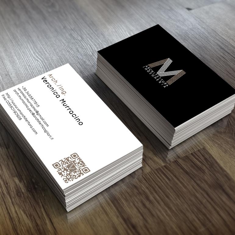 Graphic design for business card (Cagliari)