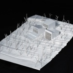 Model for OAB Office of Architecture Barcelona - Kaplankaya Canyon Ranch (Mugla, Turkey)