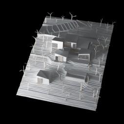 Model for OAB Office of Architecture Barcelona - Kaplankaya Canyon Ranch (Mugla, Turkey)
