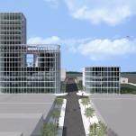 3d visualization for OAB Office of Architecture Barcelona - Miami Design District (Miami,USA)