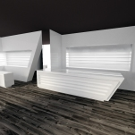 Interior design study for Optician C. (Cagliari, Italy)