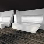 Interior design study for Optician C. (Cagliari, Italy)