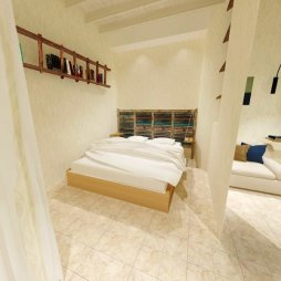 Interior design for rents rooms (Cagliari, Italy)