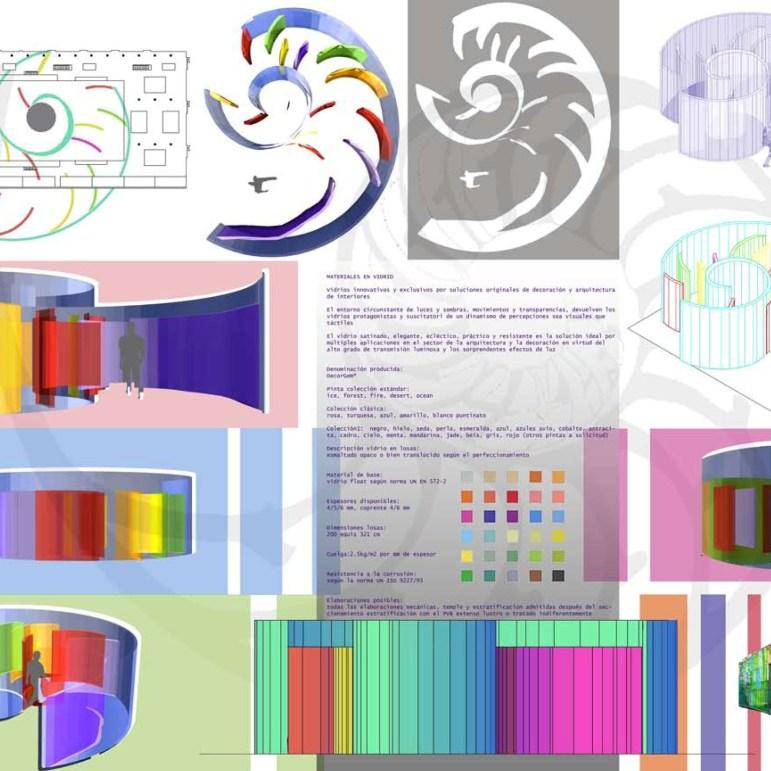Project for a pavilion exhibition - Santiago de Compostela Fair